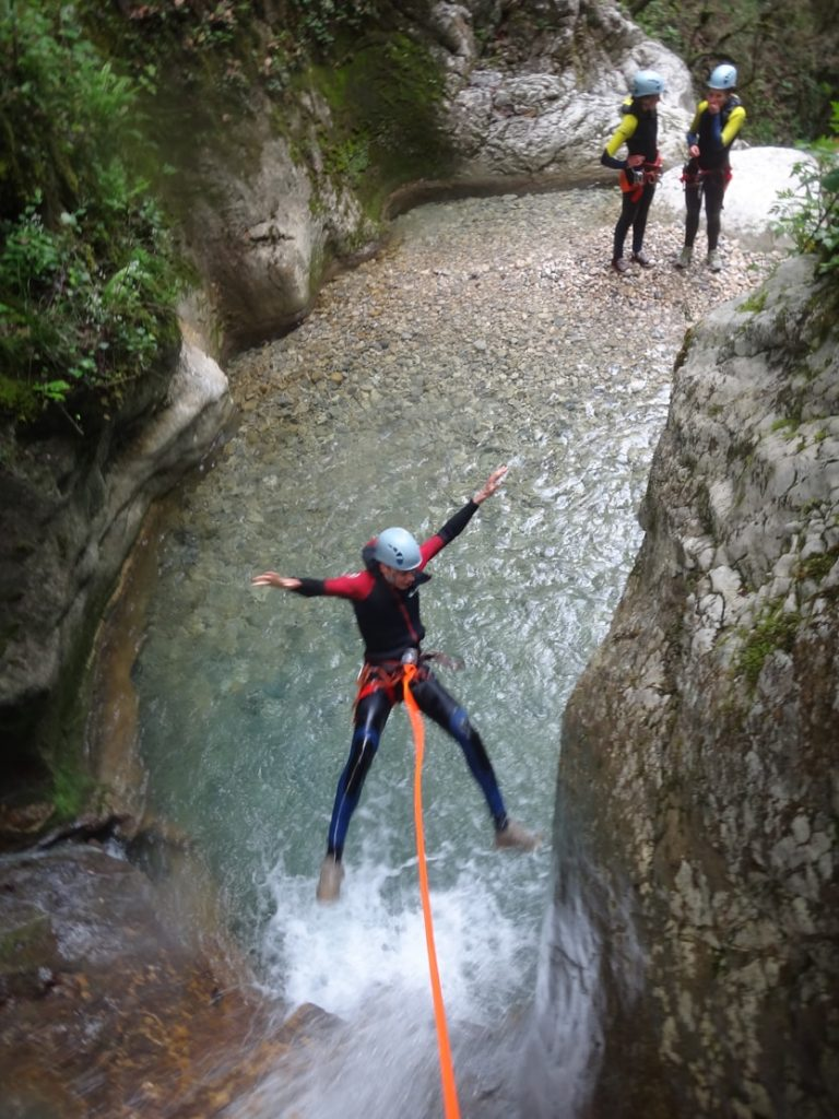 Canyoning Vercors, Canyon du Versoud